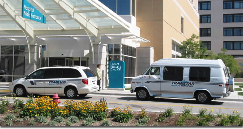 Transtar provides transportation services in southeastern  Wisconsin for elderly or handicapped patients needing a wheelchair lift or ramp.